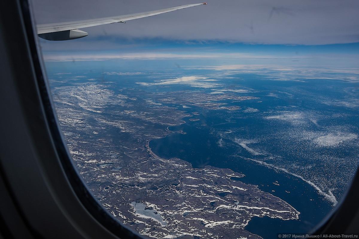 18.Canada - Перелет из Челябинска в Нью-Йорк