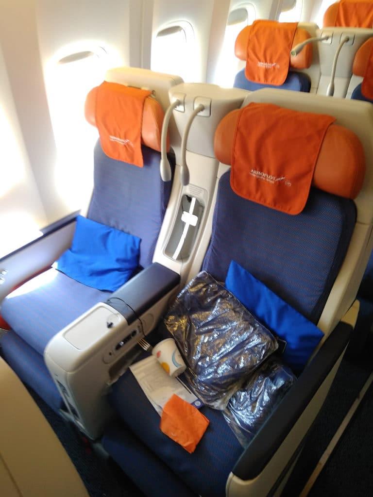 2.Comfort class Aeroflot 768x1024 - Трансатлантический перелет Аэрофлотом из Москвы в Нью-Йорк в эконом-классе