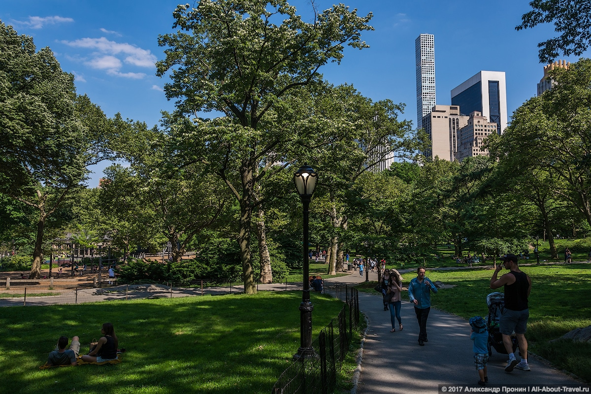 28 New York Central Park - Первый раз в Нью-Йорке: Таймс-Сквер, Центральный парк и Чайнатаун