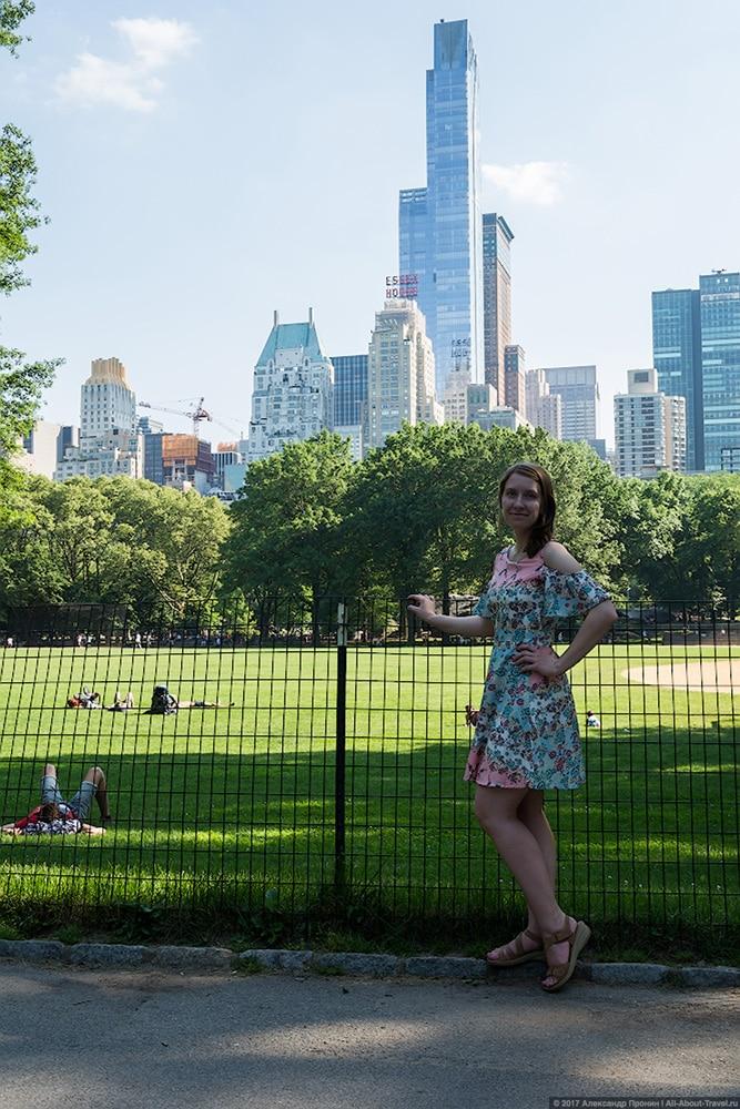 33 New York Central Park - Первый раз в Нью-Йорке: Таймс-Сквер, Центральный парк и Чайнатаун