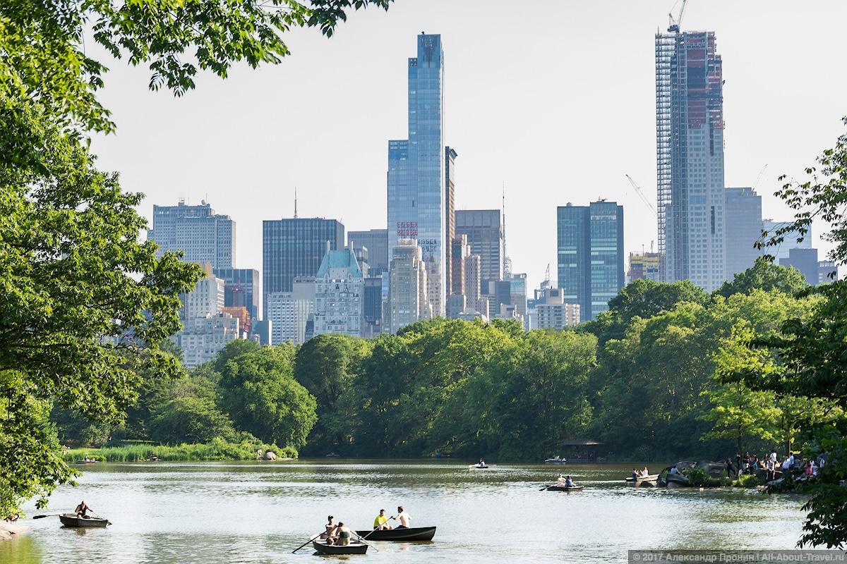 40 New York Central Park - Первый раз в Нью-Йорке: Таймс-Сквер, Центральный парк и Чайнатаун