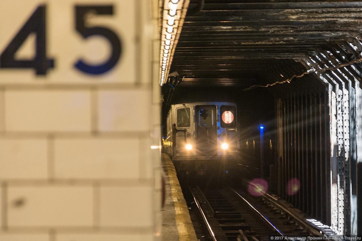 6 Subway New York - Первый раз в Нью-Йорке: Таймс-Сквер, Центральный парк и Чайнатаун