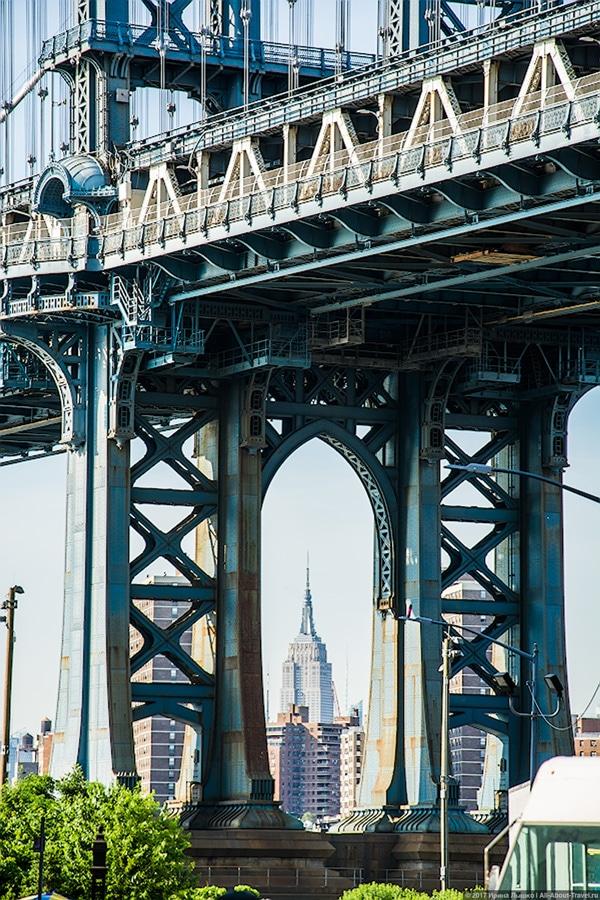 New York day 4 32 - Последние часы в Нью-Йорке: Бруклинский мост
