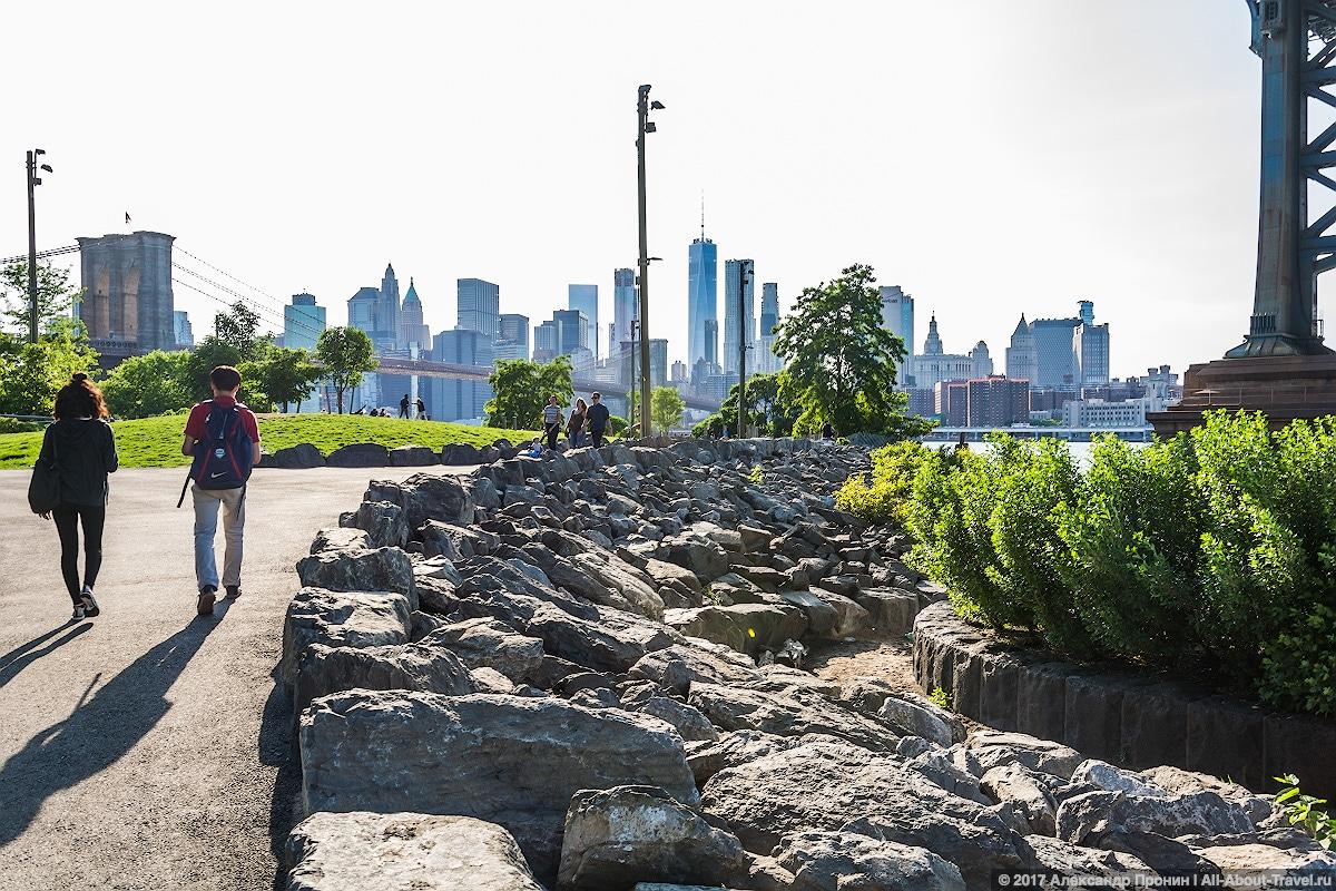 New York day 4 35 - Последние часы в Нью-Йорке: Бруклинский мост