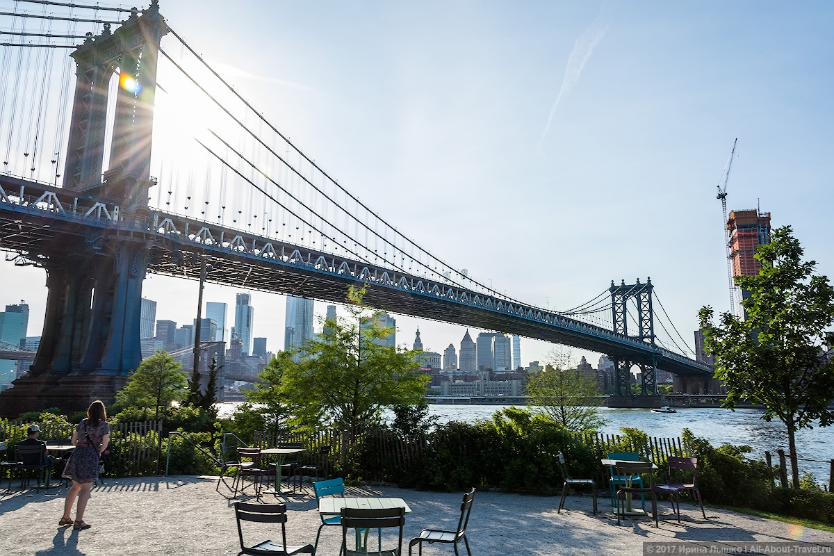 New York day 4 37 1 - Последние часы в Нью-Йорке: Бруклинский мост
