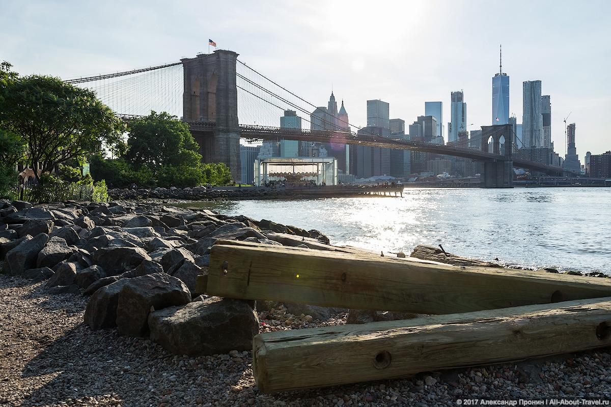 New York day 4 41 - Последние часы в Нью-Йорке: Бруклинский мост
