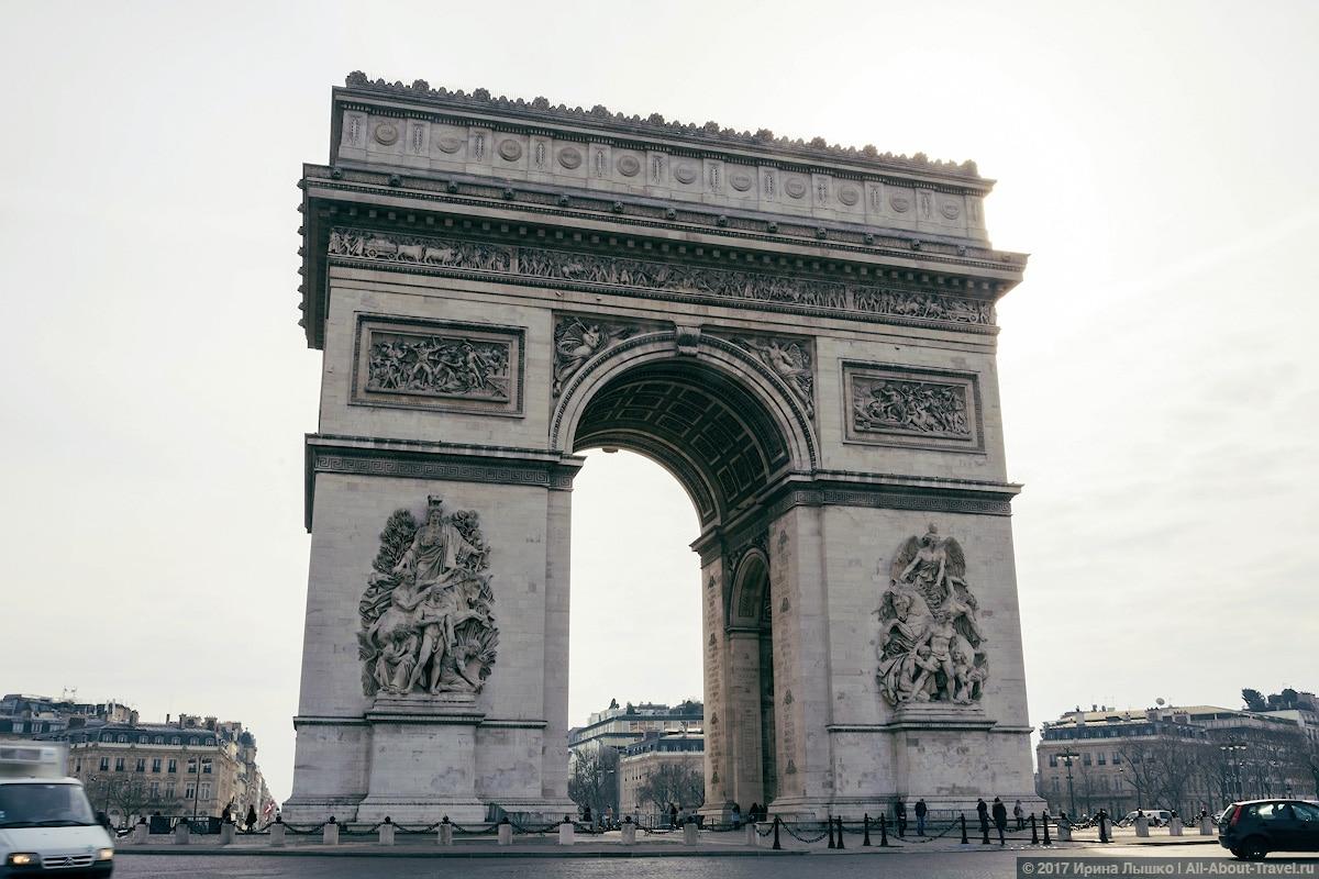 Париж, триумфальная_арка
