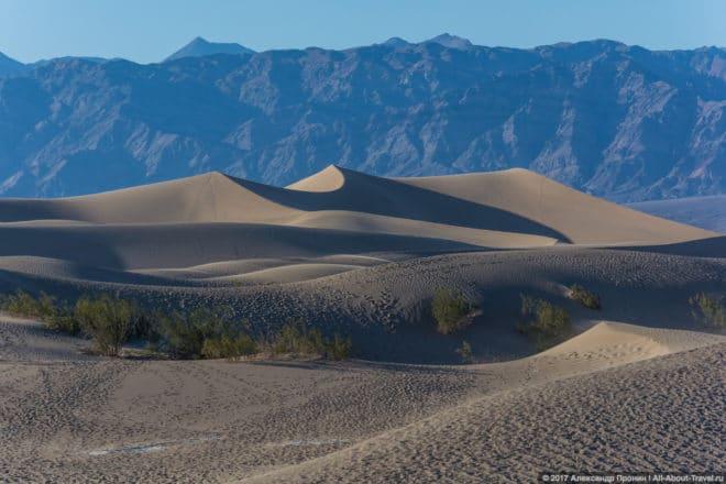 Долина Смерти, Песчаные дюны