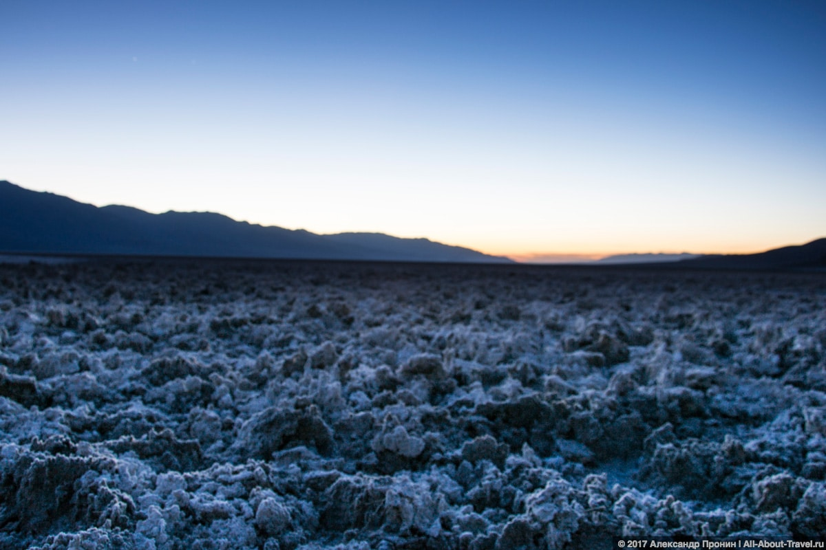 Долина Смерти, Badwater