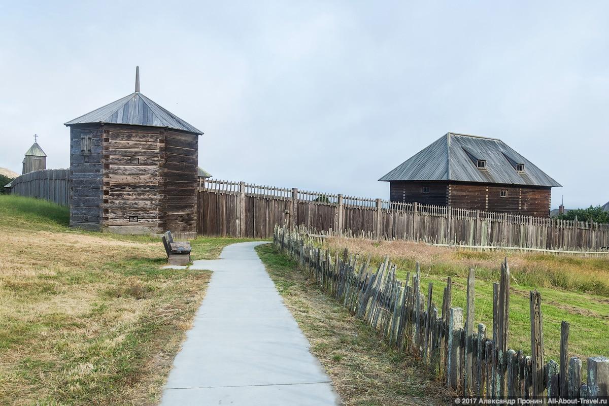 San Frantsisko Fort Ross 32 - Едем в Форт-Росс - колонию Российской империи в США