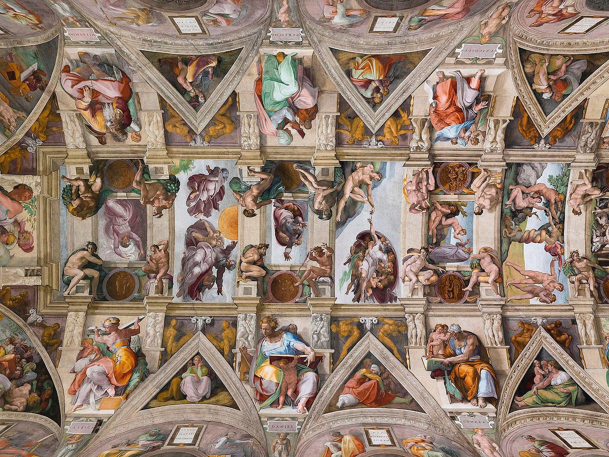 Lightmatter Sistine Chapel ceiling - Маленький Ватикан в большом Риме