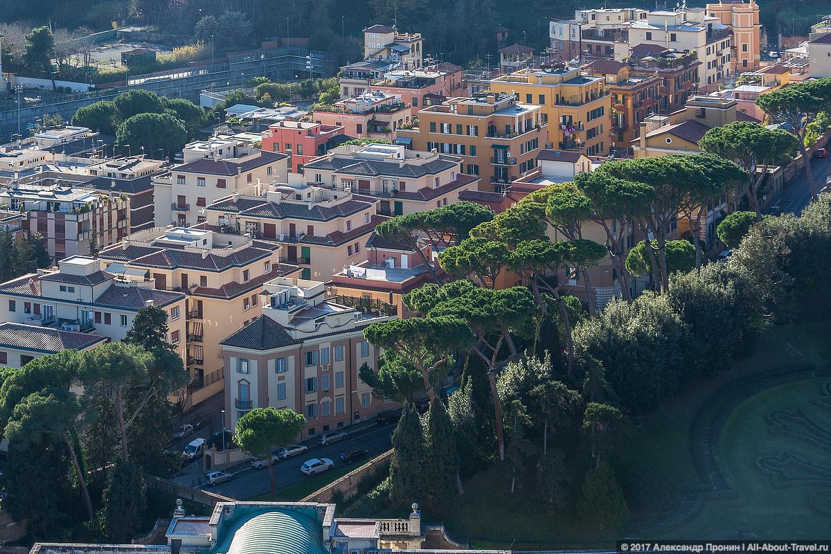 Rim Vatikan 26 - Маленький Ватикан в большом Риме