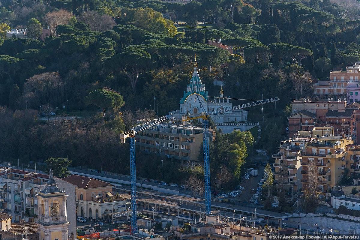 Rim Vatikan 27 - Маленький Ватикан в большом Риме