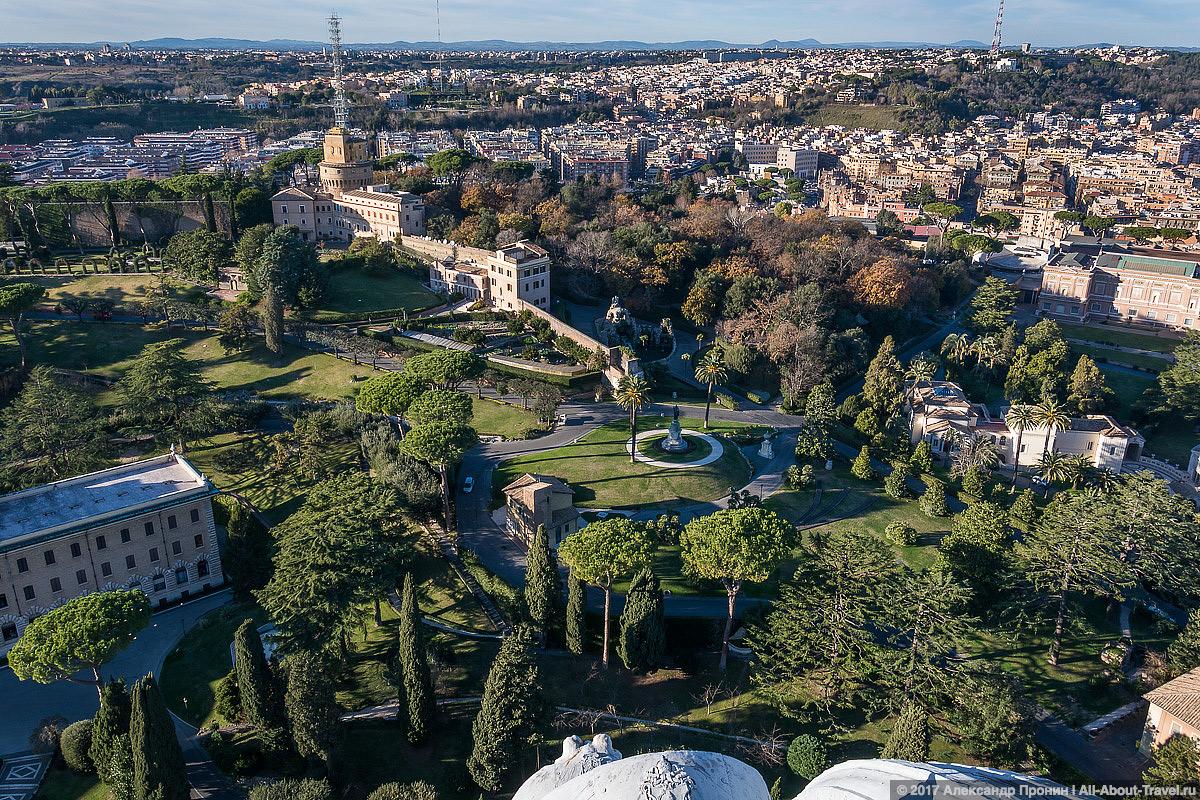 Rim Vatikan 29 - Маленький Ватикан в большом Риме