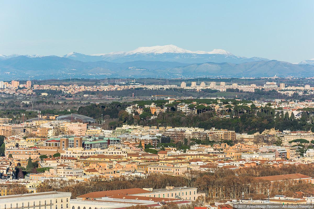 Rim Vatikan 30 - Маленький Ватикан в большом Риме