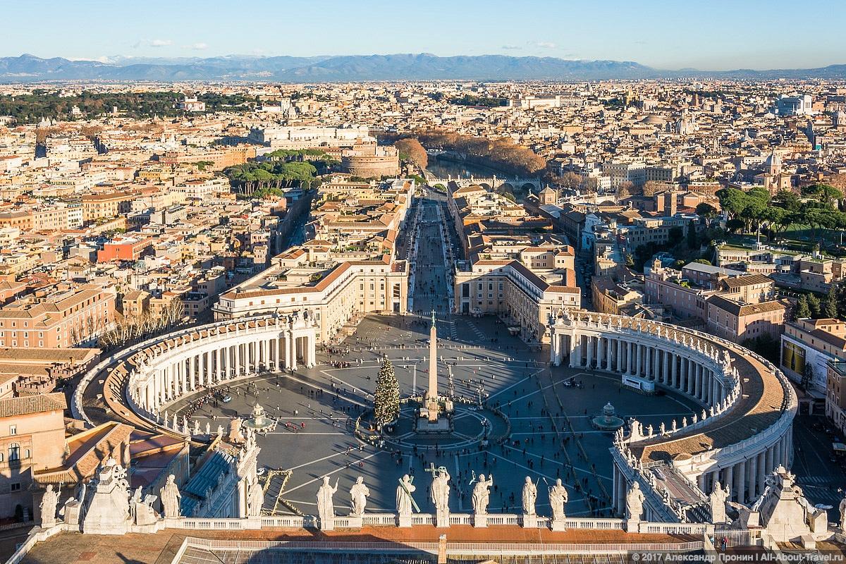 Rim Vatikan 32 - Маленький Ватикан в большом Риме