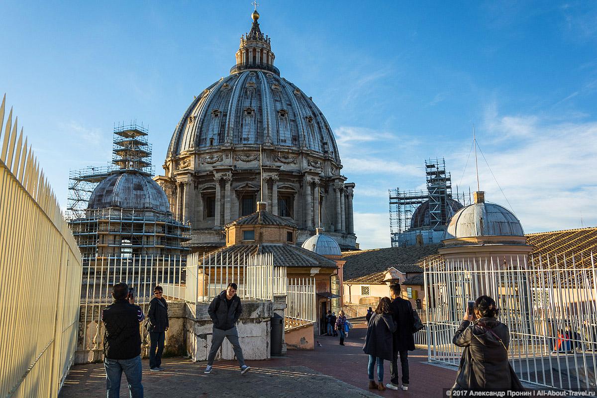 Rim Vatikan 34 - Маленький Ватикан в большом Риме