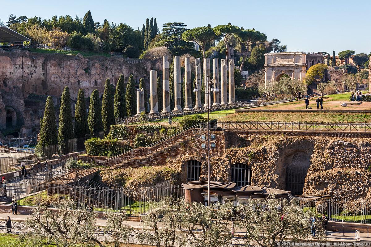 Rim 2 13 - Античный Рим, Колизей и Римский Форум