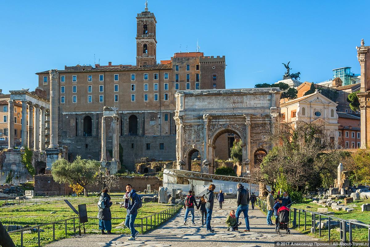 Rim 2 17 - Античный Рим, Колизей и Римский Форум