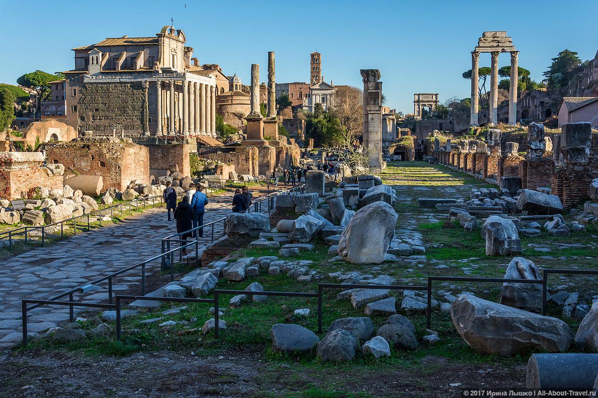 Rim 2 19 - Античный Рим, Колизей и Римский Форум