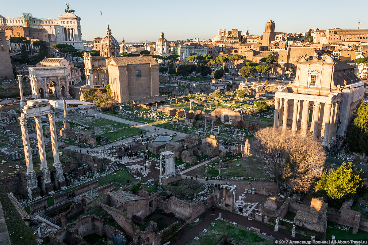 Rim 2 24 - Античный Рим, Колизей и Римский Форум