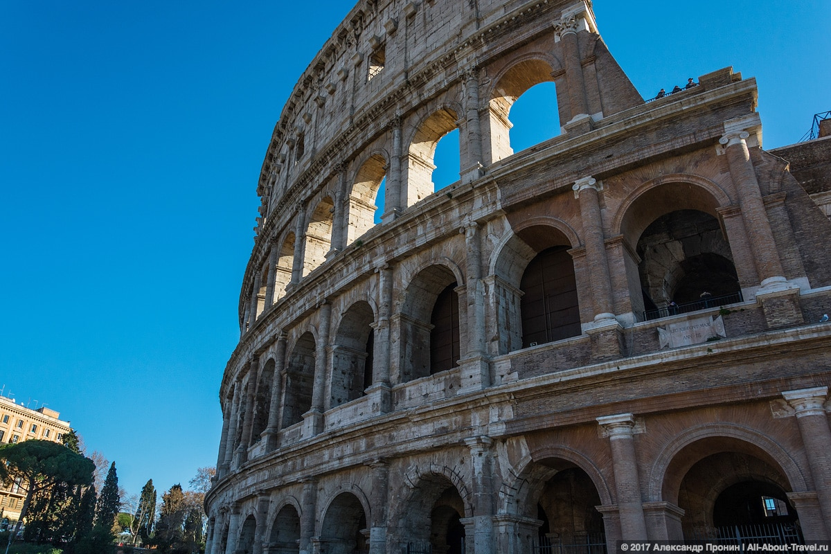 Rim 2 6 - Античный Рим, Колизей и Римский Форум