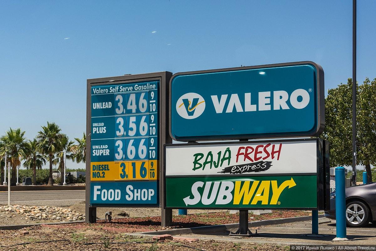 Цены-на-бензин-в-США