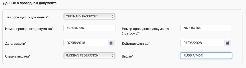 Zapolnenie ankety na vizu v Finlyandiyu 8 - Заполнение анкеты на шенгенскую визу в Финляндию