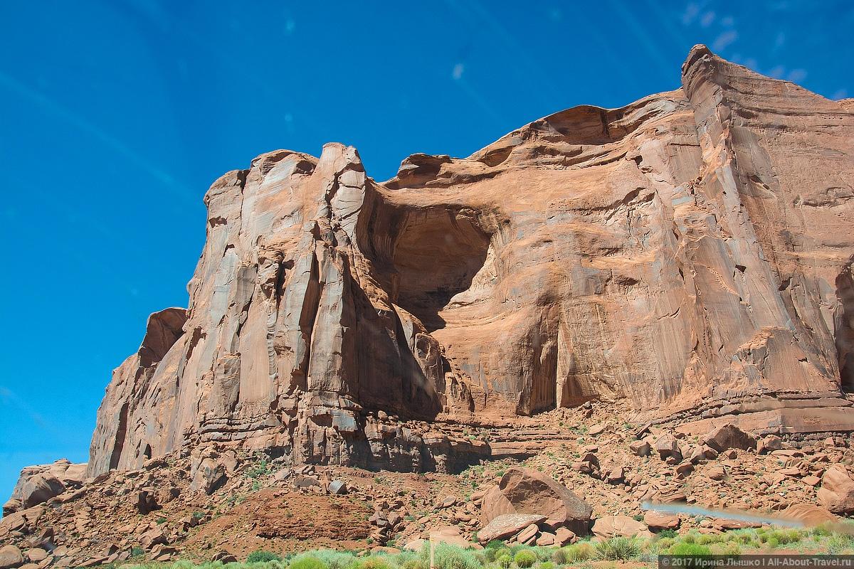 23 Dolina Monumentov - Долина монументов и Подкова - бесподобная природа США