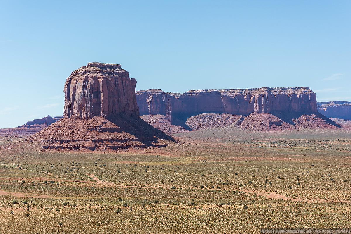 29 Dolina Monumentov - Долина монументов и Подкова - бесподобная природа США