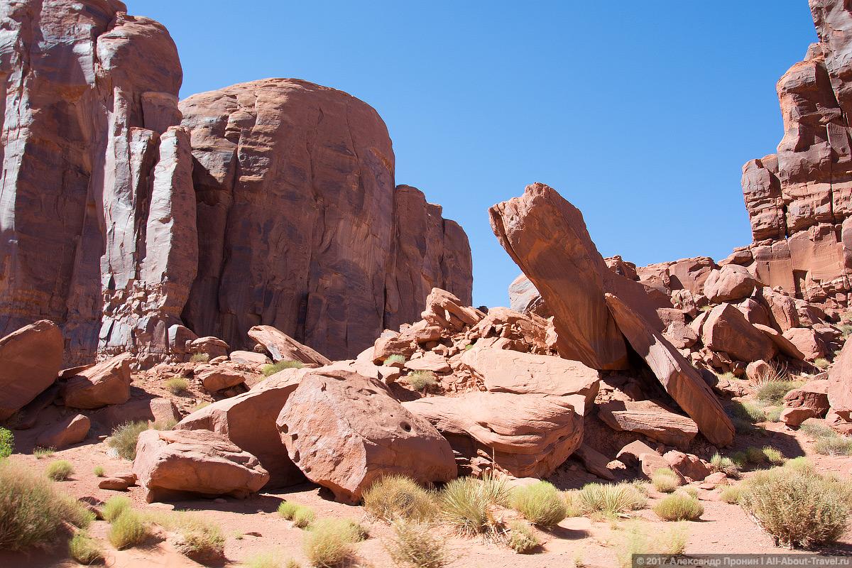 31 Dolina Monumentov - Долина монументов и Подкова - бесподобная природа США