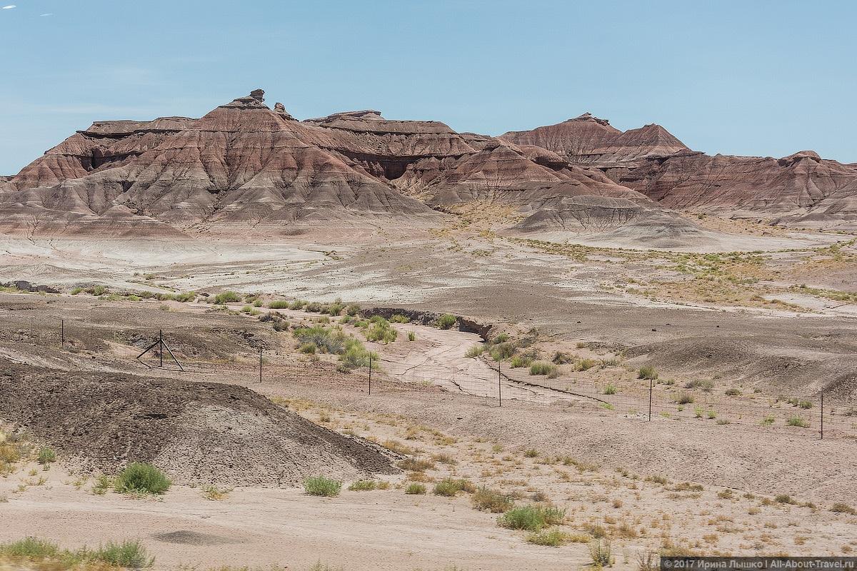 3 Puteshestvie po SSHA den 8 - Долина монументов и Подкова - бесподобная природа США