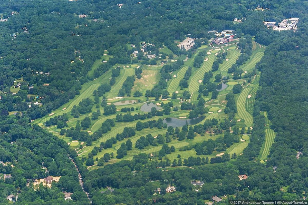 Поля для игра в гольф в США