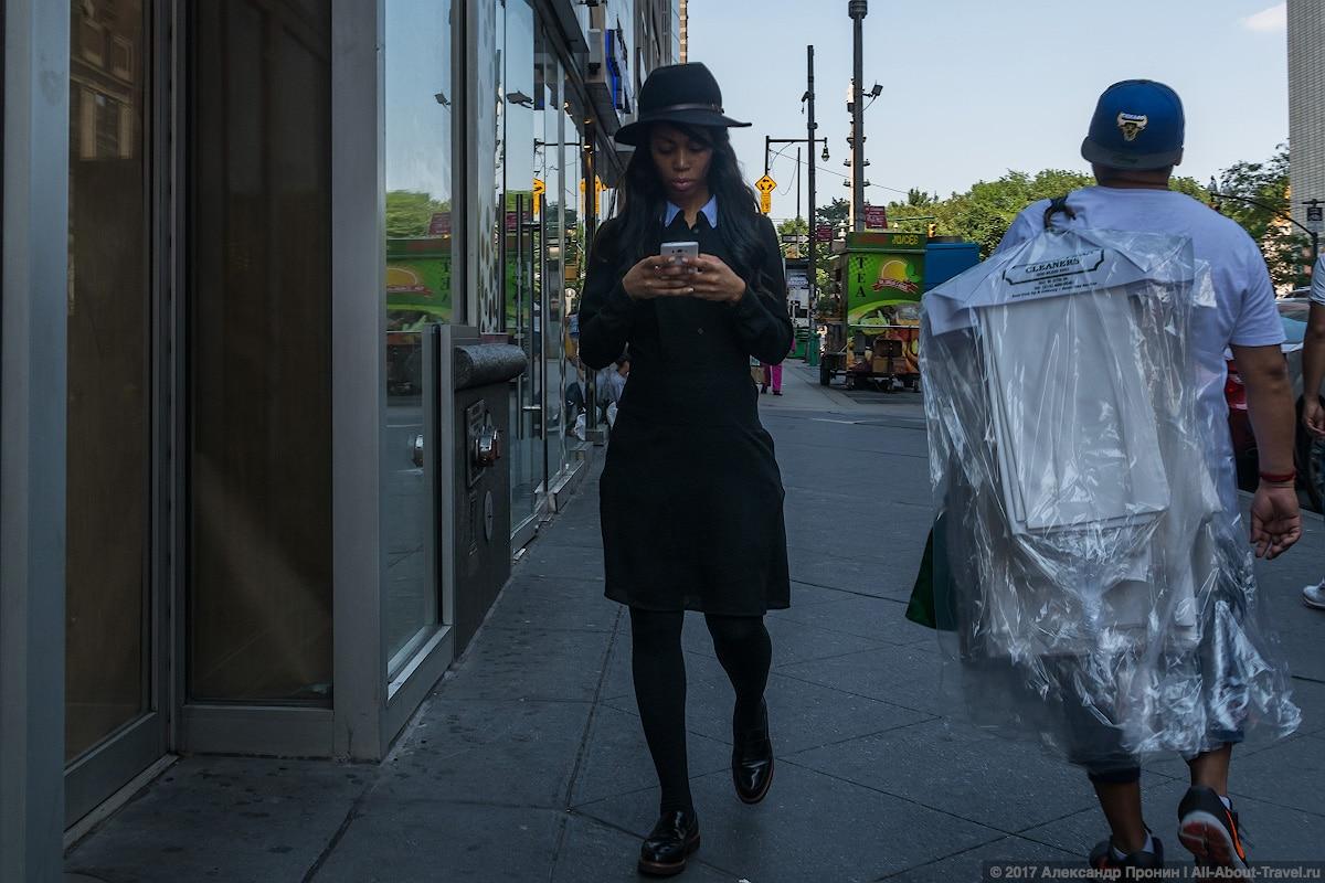 Жительница Нью-Йорка