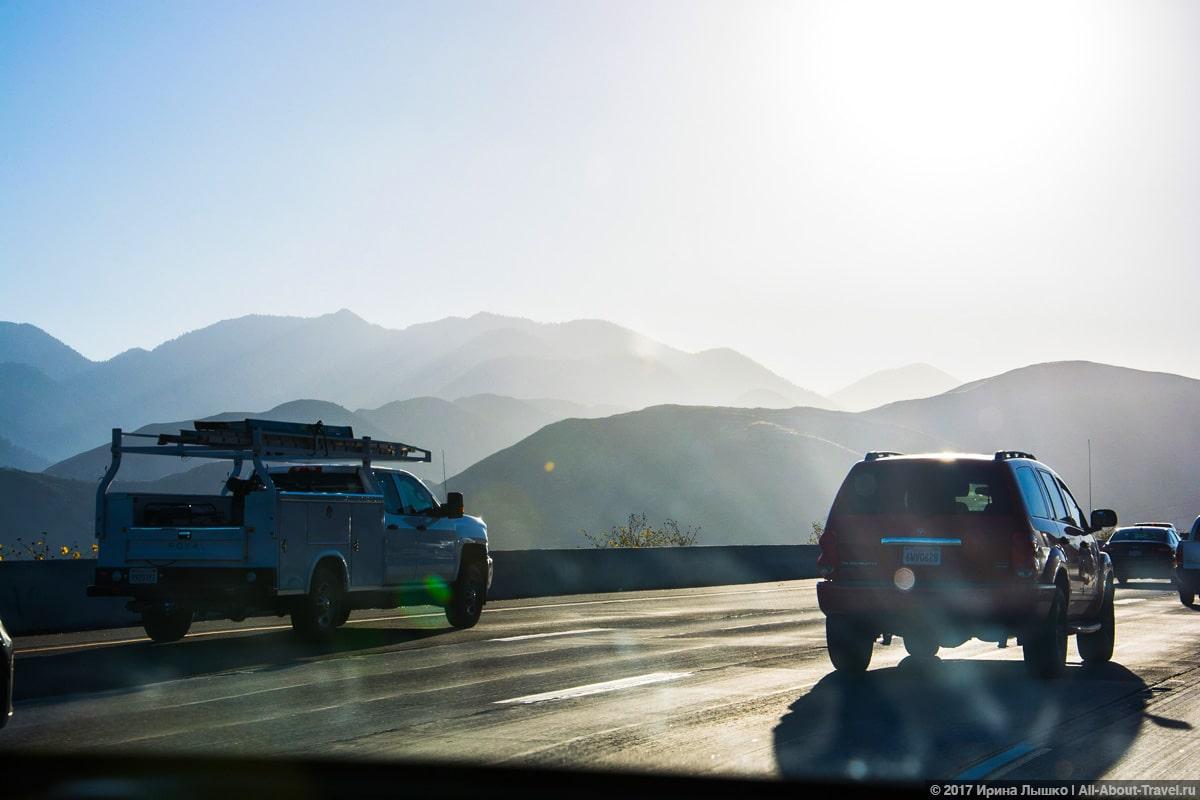 Калифорния, дорожное_движение
