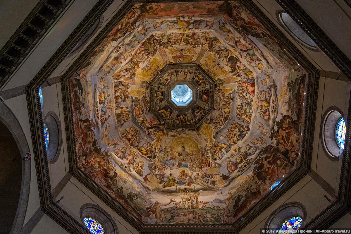 Фреска-купола-Санта-Мария-дель-Фьоре