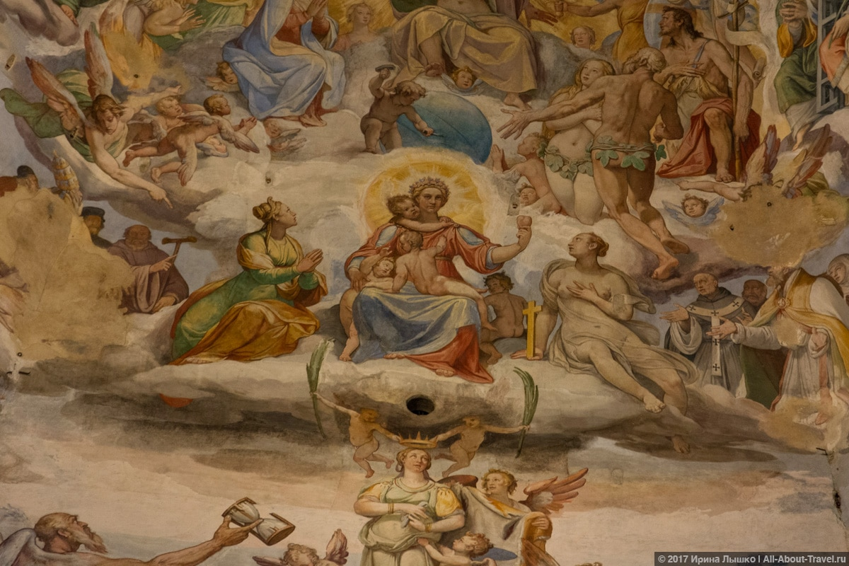 Фреска_Санта-Мария-дель-Фьоре