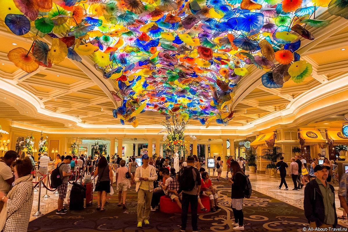 Беладжио - казино Лас-Вегаса