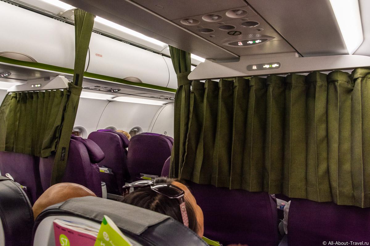 Airbus A320 Neo опыт перелета рейсом S7