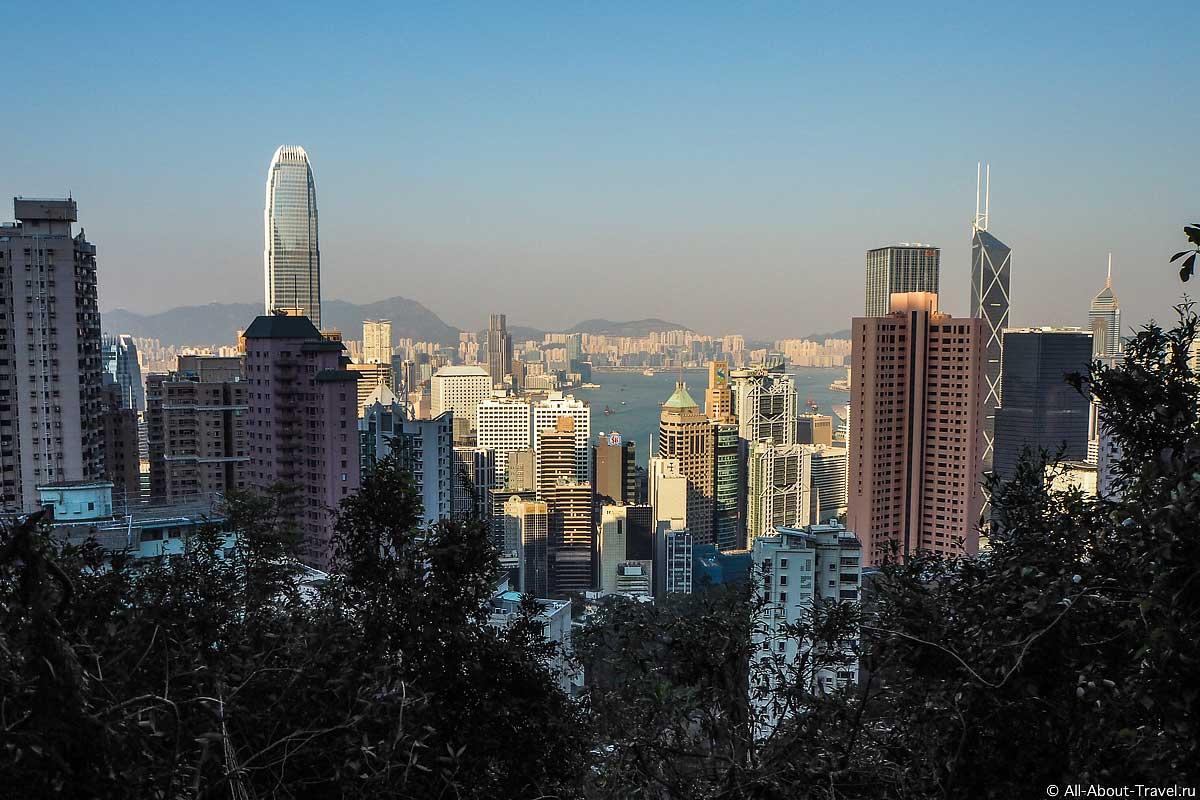 Вид на Гонконг с Пика Виктории