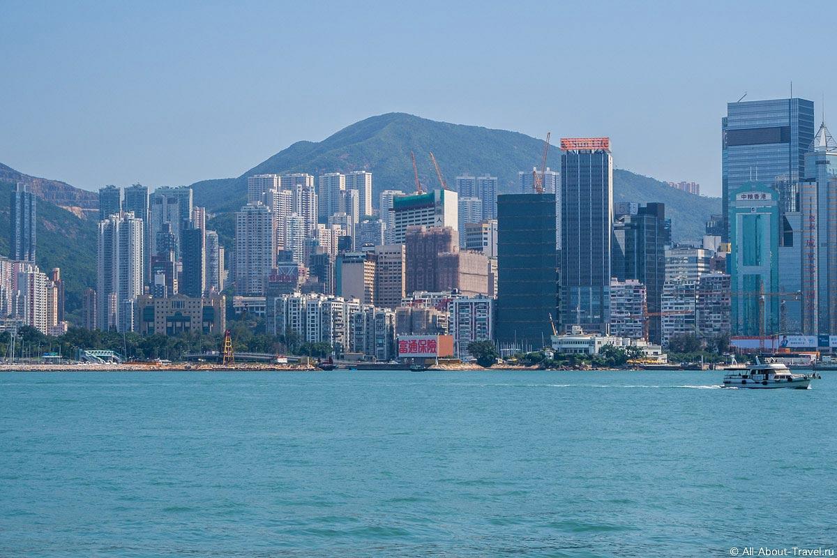 Небоскребы Гонконга