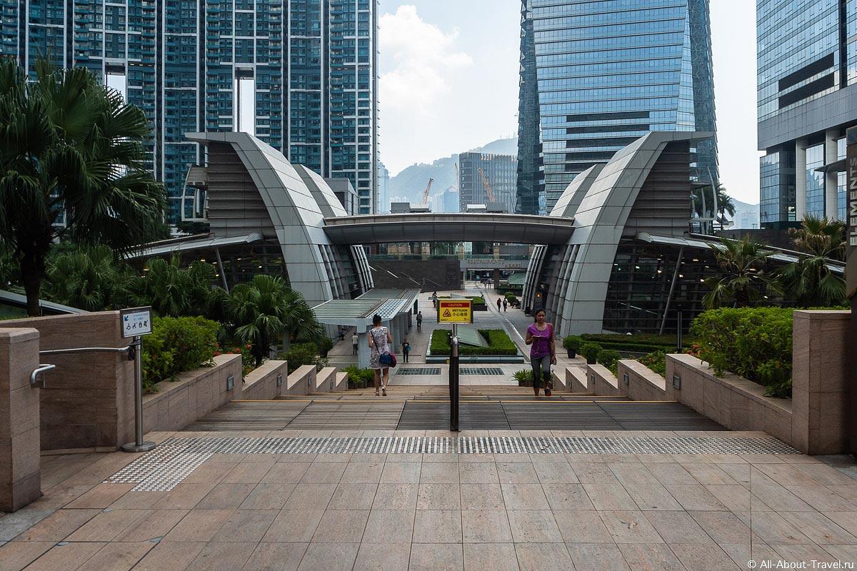 Жилой комплекс в Гонконге