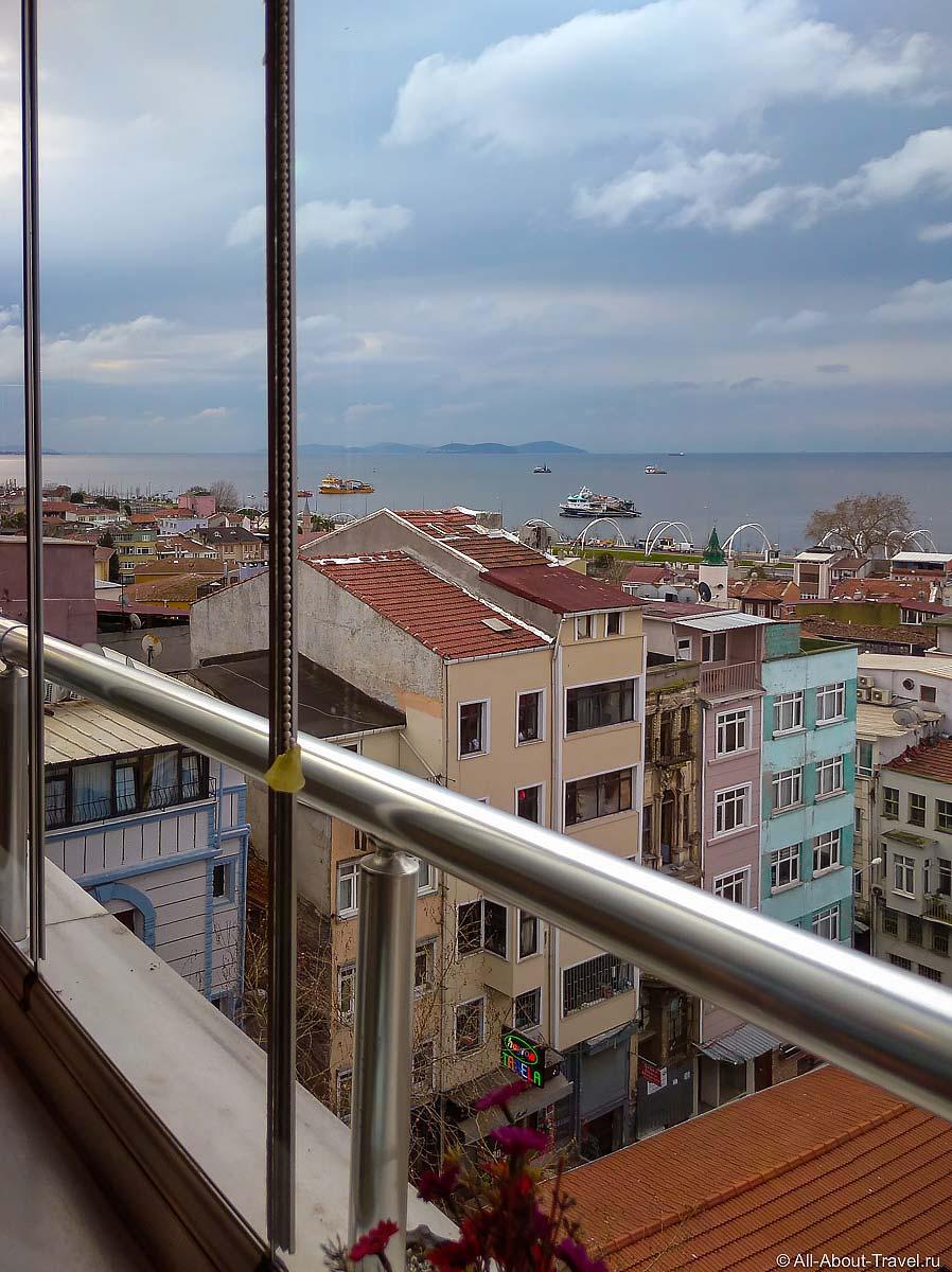 Стамбул - Вид на Мраморное море с террас