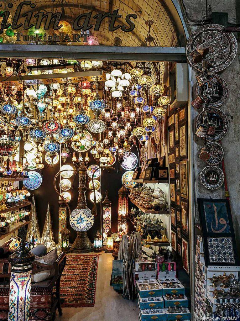 Лавка на Гранд базаре Стамбул