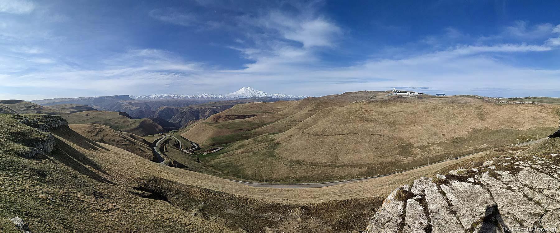 Вид с плато Шатджатмаз