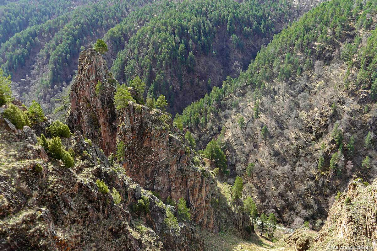 Скалы Аватара в Джилы-Су