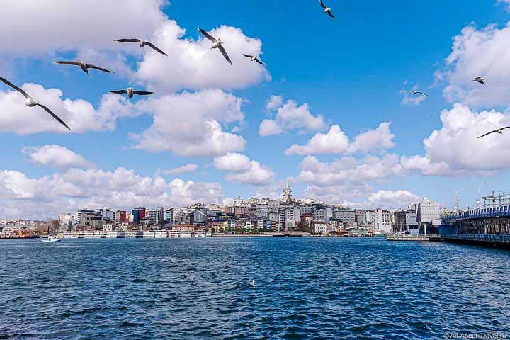 Стамбул пролив Золотой Рог